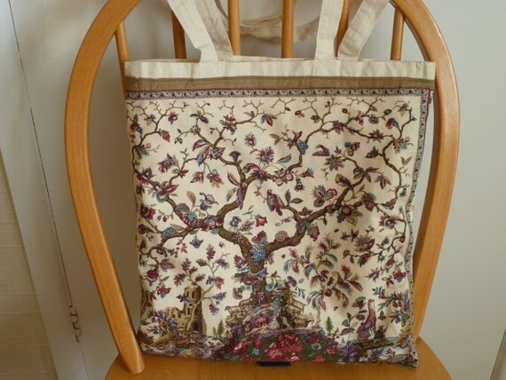Go Green - Re-Usable Shopping / Tote / Gift Bag Patchwork