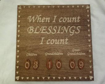 Grandparent Blessings