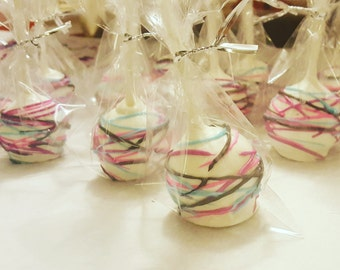 Multi-colored Cake Pop