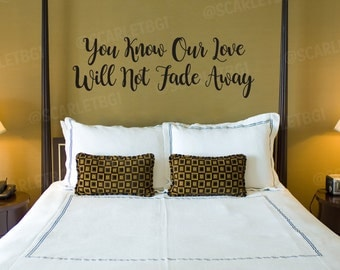 Grateful Dead Wall Decal - Not Fade Away