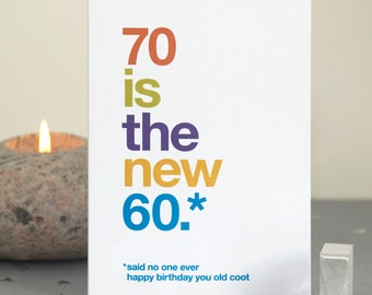 il_340x270.1026470541_of8y funny 70th birthday card 70 card sarcastic 70th birthday