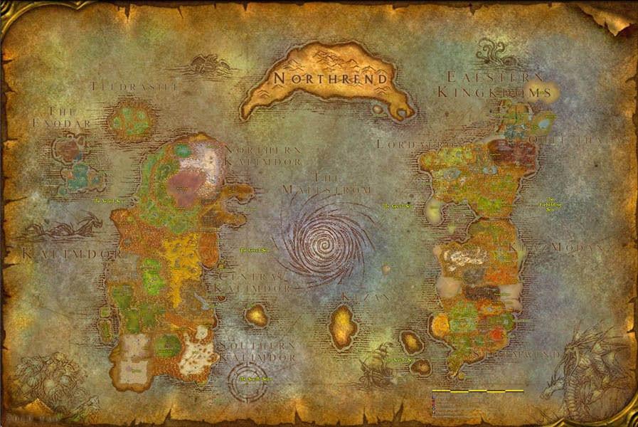 Warcraft World Map Afp Cv