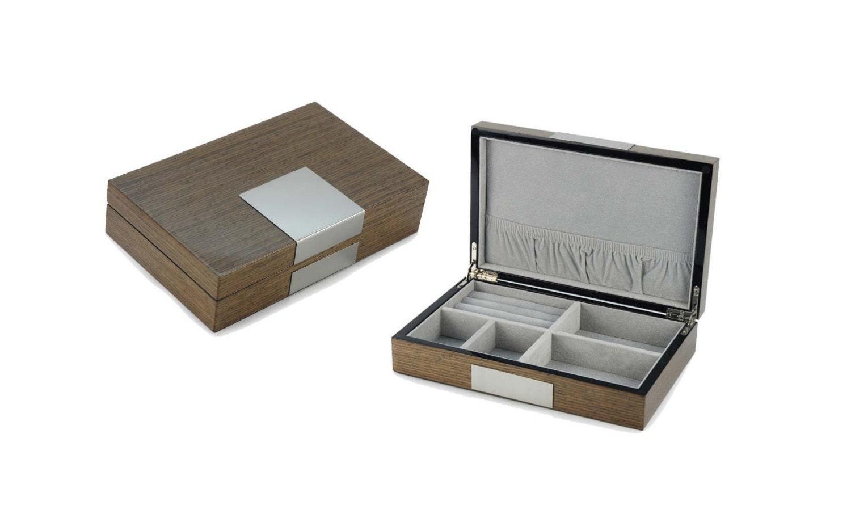 luxe en bois bouton de manchette cas bo te bague montre fr ne. Black Bedroom Furniture Sets. Home Design Ideas