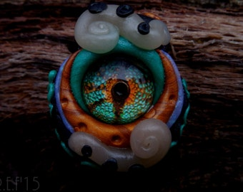 Eyeball Creature Pendant