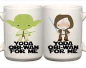 Yoda Obi-Wan for Me Coffee Mug