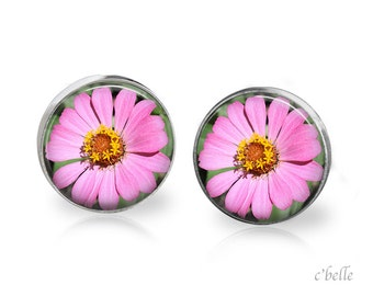 Earrings flowers spring