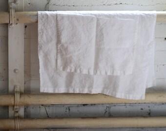 Linen Bath Towels - Set of 2