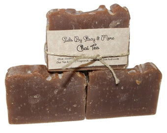 Homemade Chai Tea Soap