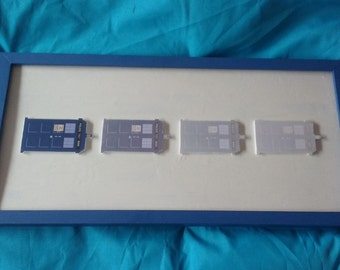 Materialising TARDIS box frame - Dr Who