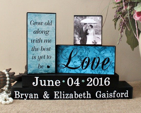 Me To You Wedding Gifts: Personalized Wedding Gift Grow Old Along With Me Wedding
