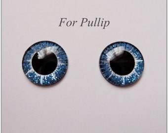 1 Pair of hand painted eye chips for Pullip.