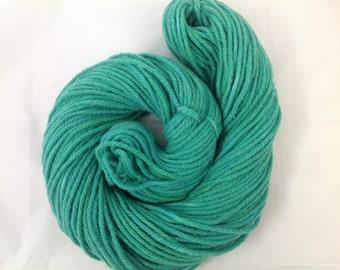 Sale yarn Hand dyed Bulky Merino Yarn ~ Green