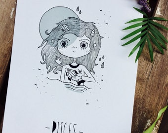 Illustration Pisces