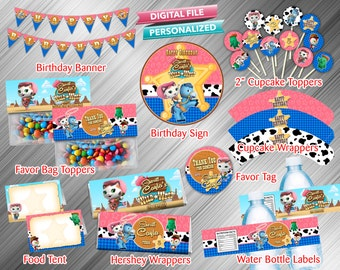 Sheriff Callie Printable Party Package