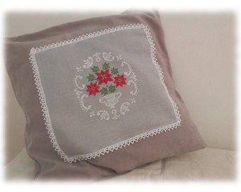 shabby cushion