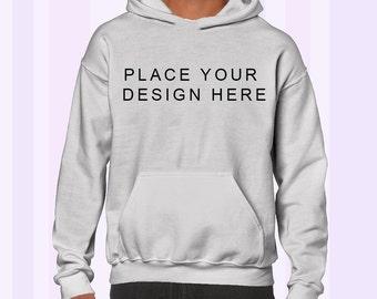 Custom Design Place Anything Here Hoodie Sweatshirt