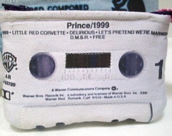 Prince 1999 Mini Cassette Tape Clutch