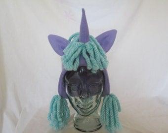 Fleece Pony Hat
