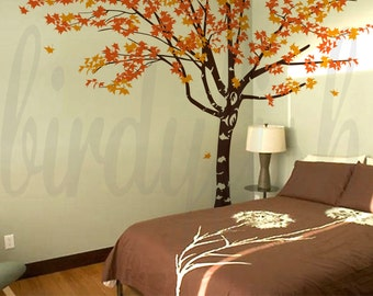 Maple Tree wall decals Wall sticker Wall Murals, Baby Nursery Wall Decals, Home Decor