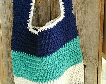Crochet bag, crochet purse.