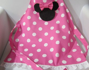 Minnie Mouse Apron, Child Size
