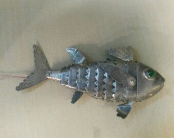 Vintage Sterling Silver Miniature Fish