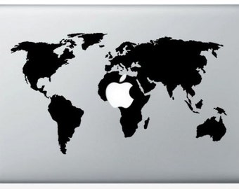 Sticker World Map for Mac