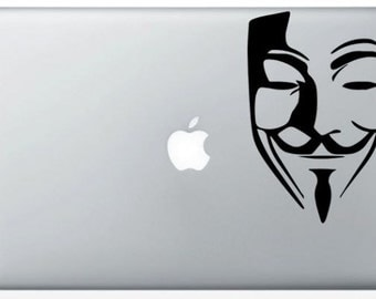 Stickers MacBook Anonymous