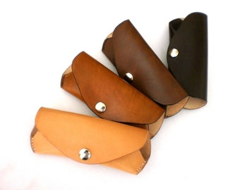 ray ban reading glasses case  glasses case reading glasses sunglasses pouch veg tan leather w belt loop handcrafted by celyfos?