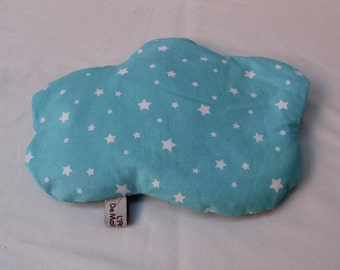 """Hot water bottle dry removable cloud rice grain Collection """"Blue Star"""""""