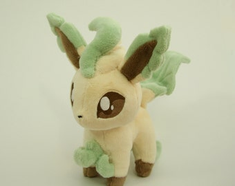 Pokemon Plush Leafeon Fan-made - Made-to-Order