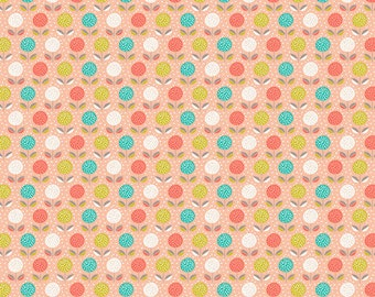 Dashwood FABLE WOOD Buds and Blooms Flowers Floral Novelty Quilting and Craft Sewing Fabric Fat Quarter