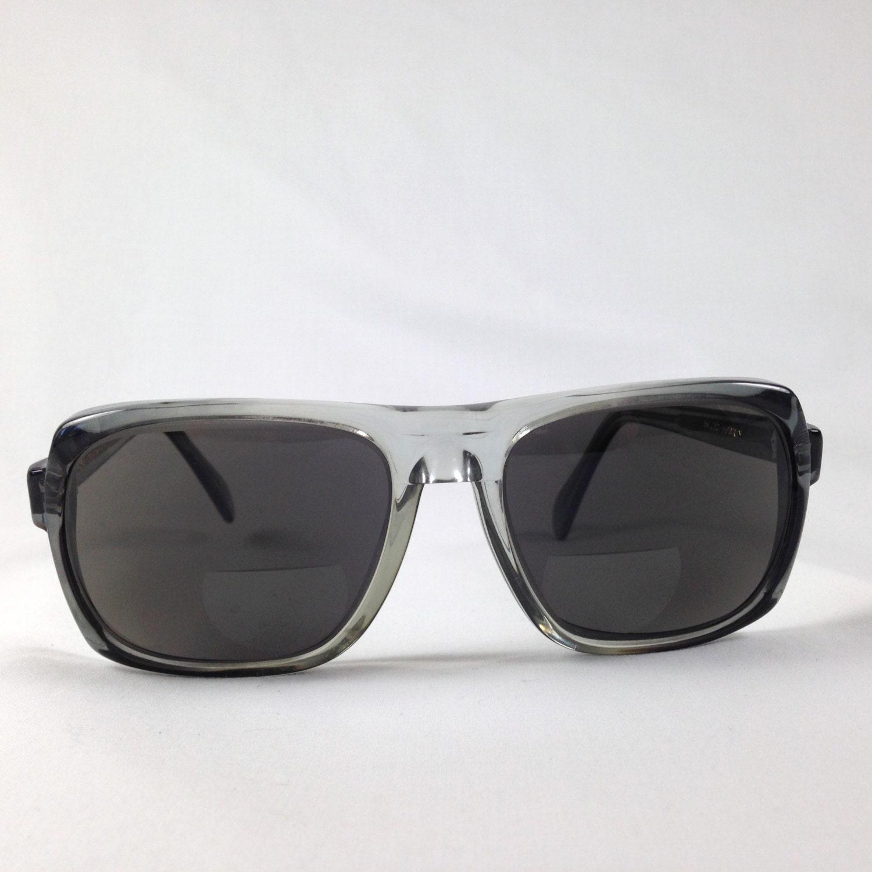 Sunglasses Frames For Thick Lenses : Vintage Ora Raymond K265 Thick Oversize Sunglasses Eyeglasses