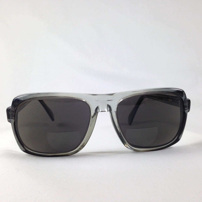 Vintage Ora Raymond K265 Thick Oversize Sunglasses Eyeglasses