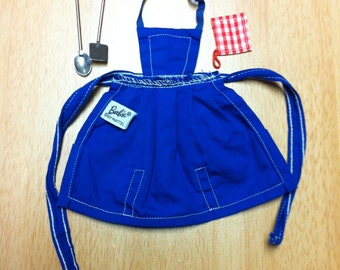 Barbie Apron and Utensils 1962 by Mattel