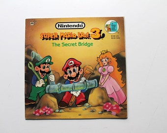 Rare Nintendo Super Mario Bros. 3 The Secret Bridge 1990