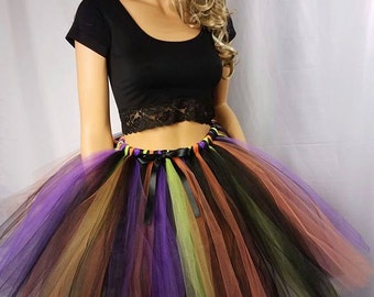 Adult or Child Witch Tutu Skirt