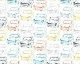 Mini cars pastle shades
