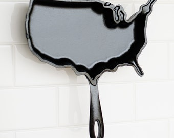 America, cast iron cookware
