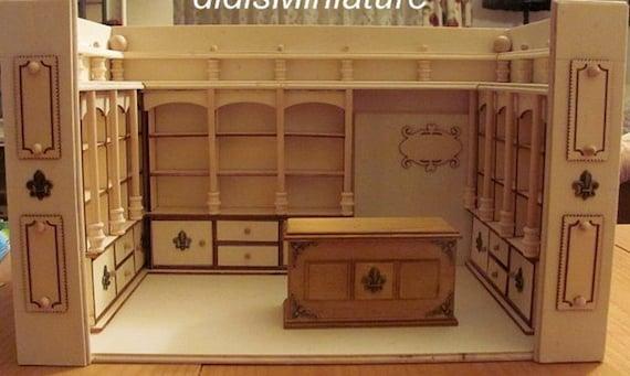 Unfinished Dollhouse Furniture