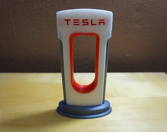 Tesla Supercharger Phone Tablet Charger,Battery,Gadget,Prop,Model,P60D,Gift,Bling