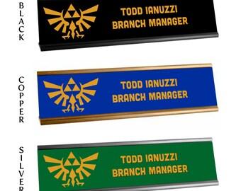 Name Holder - Legend of Zelda - Hylian Crest