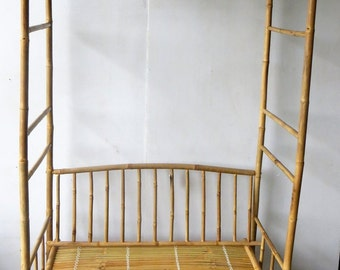 """Seated Bamboo Arbor, BNA-60S, 84""""H x 54"""""""