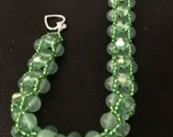Lovely Green Bracelet