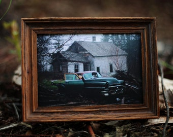 Living in the Name of / photo by Steve Skafte / 4 x 6 inches framed