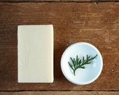 No. 8 ORGANIC SHAVE SOAP   Handmade Organic Soap   Shave Soap   Fir, Cedar + Sweet Orange Soap   Organic Lard Soap