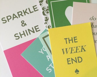 Kate Spade Inspired Journal Cards- planner goodies- projectlife