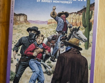 Outlaw Gulch 1990s choose your own adventure book