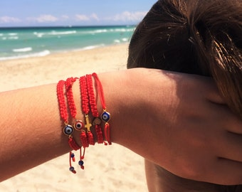 Red String Bracelets • Friendship Bracelets • Protection Bracelet • Evil Eye Bracelet • String Bracelet • Cross Bracelet • Heart bracelet