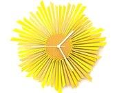 The Sun (Le Soleil) L / XL - horloge murale moderne